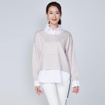 戎立特新款女士衬衣领套衫GCW502