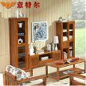 意特尔新品榆木系列电视柜现代中式地柜客厅影视柜装饰储物柜特价