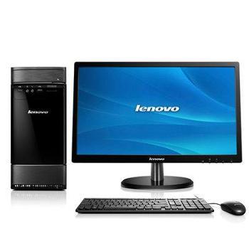 联想(lenovo)新圆梦G5000台式电脑四核J19004G内存500G硬盘1G独显win8(19.5英寸显示器)
