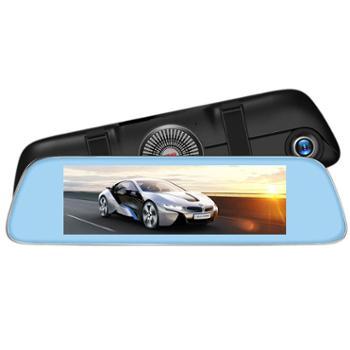 凌度(BLACKVIEW)HS920行车记录仪高清8.0英寸无光夜视前后双录多点触控流媒体后视倒车影像
