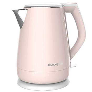 九阳(Joyoung)热水壶烧水壶电水壶双层防烫304不锈钢家用大容量电热水壶K15-F626
