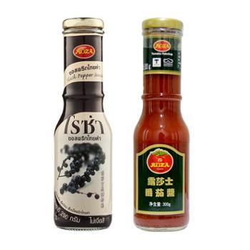 泰国露莎士黑胡椒290g番茄酱300g