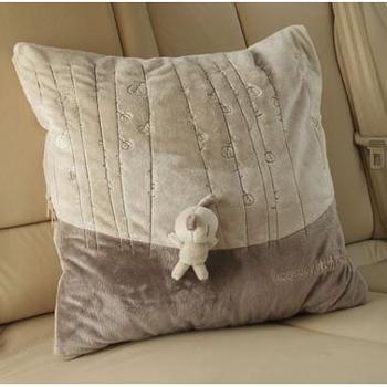 爱车屋米汤汽车用抱枕被空调被可爱抱枕靠垫/空调被