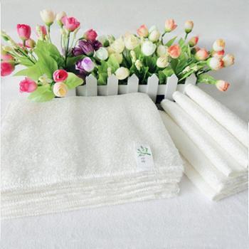 乐竹 韩式洗碗巾 单条装 竹纤维洗碗巾 不沾油洗碗巾 百洁布 神奇抹布 白色 彩色 大中小号