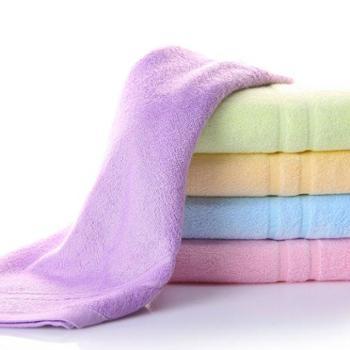 乐竹 竹纤维毛巾 两条优惠装