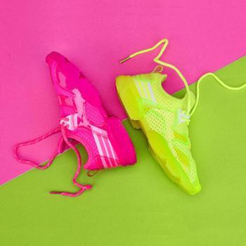 【Qiloo】儿童透气网布休闲鞋