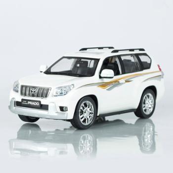 信宇丰田普拉多越野车SUV1:16汽车模型带充电遥控玩具车越野车