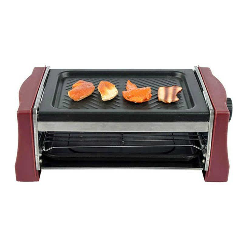 康佳双层功夫烤王 sk818b 家用电热烧烤炉烧烤架