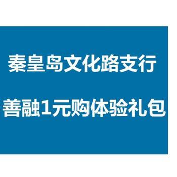 (秦皇岛地区O2O活动商品 现场下单提货 其他网购订单不发货) 善融一元购大礼包-文化路支行