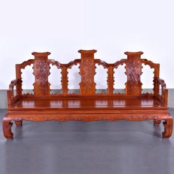 红木家具 老挝红酸枝 沙发十二件套 古典实木沙发组合