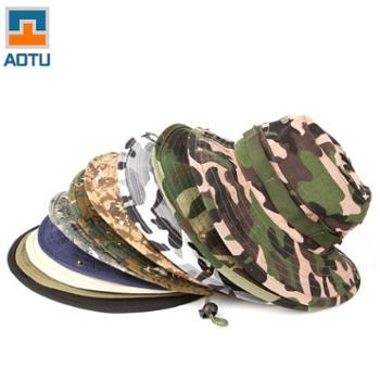 凹凸 迷彩帽 野营登山帽 丛林帽 户外 钓鱼帽 奔尼帽子 AT8706