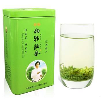 江西特产绿茶狗牯脑精选毛尖绿茶100g罐