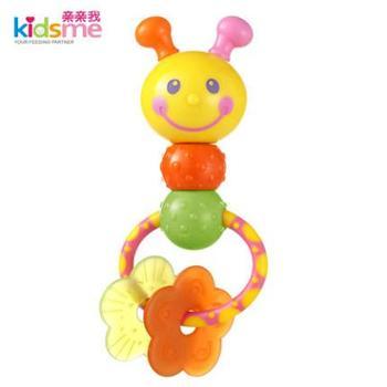 亲亲我新生儿玩具宝宝益智玩具婴儿摇铃玩具外星豆豆手摇铃