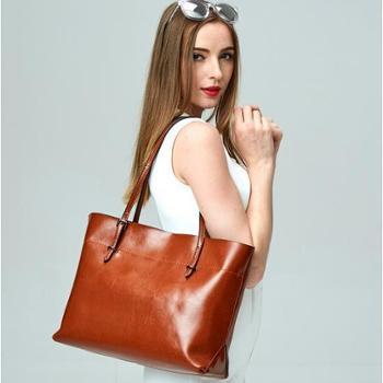 2017新款时尚真皮女包牛皮包包手提包女式女包箱包L4002