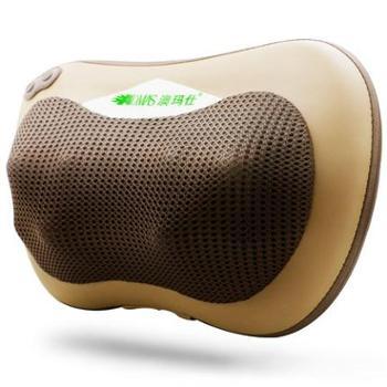 澳玛仕按摩枕家用车载八头可调力度腰部肩颈部揉捏按摩器按摩靠垫