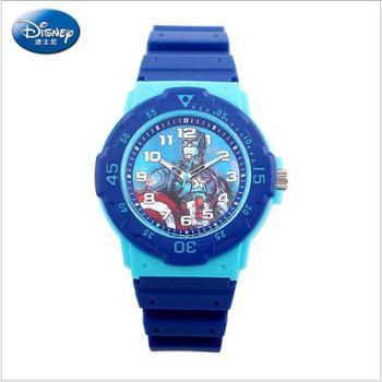 DISNEY迪士尼正品英雄联盟男孩指针式手表儿童学生表
