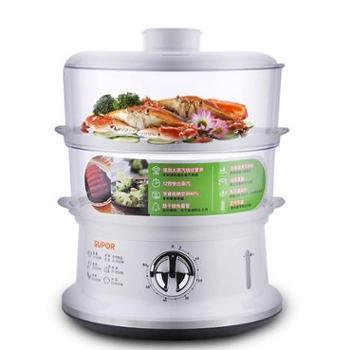 Supor/苏泊尔 Z06YA3-S2电蒸锅多功能家用双层大容量迷你热菜蒸笼