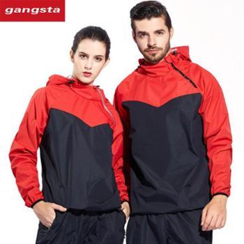 【gangsta】新款暴汗服套装男女闷汉服【千盛百货】62169