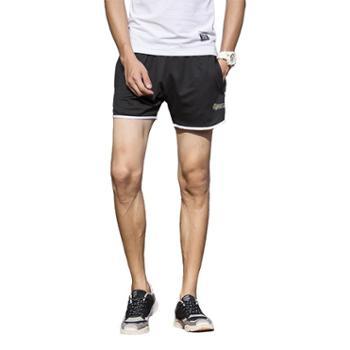 【gangsta】新款潮流男女速干短裤跑步健身短裤【千盛百货】168