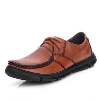 上匠风华头层牛皮男子单鞋12525