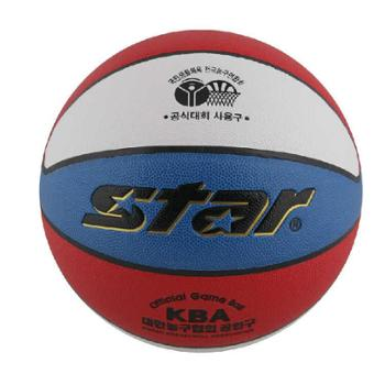 star世达包邮正品7号篮球室内外兼用高级合成皮革特价BB4257