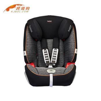 宝得适(Britax)超级百变王123PLUS汽车儿童安全座椅9个月-12岁黑色(产地英国)