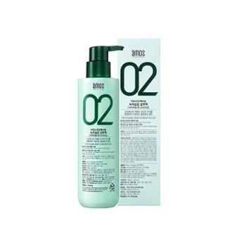 韩国AMOS爱茉诗绿茶固发洗发水(中干性发质适用)500克/瓶