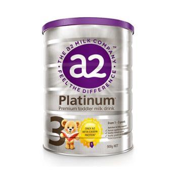 新西兰A2Platinum酪蛋白白金版婴儿奶粉3段(1-3周岁宝宝)900克