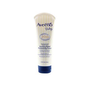 美国艾维诺(Aveeno)婴幼儿燕麦保湿润肤霜226g(效期至2020.06)