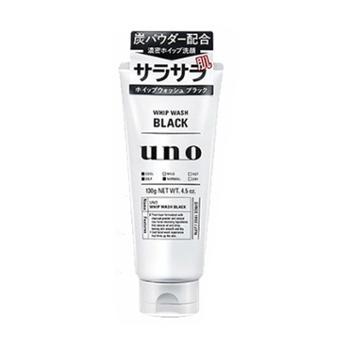 SHISEIDO资生堂UNO男士洗面奶黑炭控油洁面乳130克