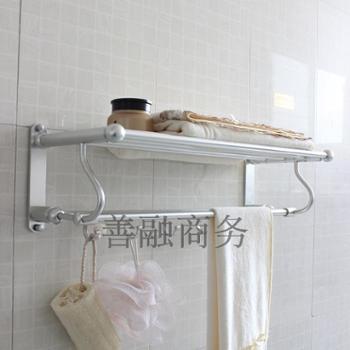 毛巾架太空铝 卫生间浴室置物架卫浴挂件 毛巾架浴巾架新款