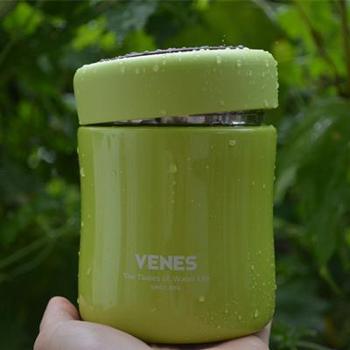 德国菲驰VENES泡芙保温汤盒VB121-380焖烧杯汤粥盒食物罐儿童