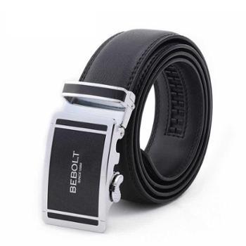 BEBOLT商务经典时尚自动扣皮腰带BL13001