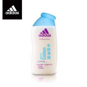 adidas/阿迪达斯 女士焕彩健肤沐浴露 牛奶净润沐浴露 美白保湿