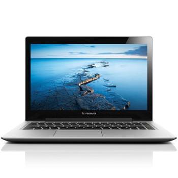 联想(Lenovo) U330P 13.3英寸超极本(i5-4200U 4G 500G 16G固态硬盘 高清摄像头 Win8)暮光灰