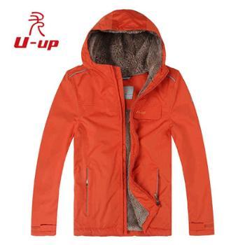 尤嘉MFT008童款棉服男童女童儿童棉衣绒保暖户外外套加厚冬季