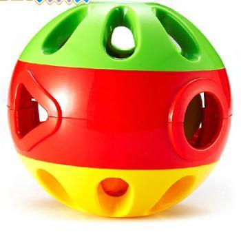 澳贝 响铃滚滚铃球 婴儿玩具手抓球 爬行玩 宝宝可当足球踢