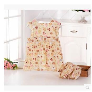 宝宝防水罩衣吃饭衣长袖围裙围兜儿童反穿衣画画吃饭兜婴幼儿袖套