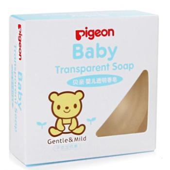 贝亲透明皂70g新生婴儿洗脸肥皂儿童宝宝洗澡沐浴洁肤香皂IA122