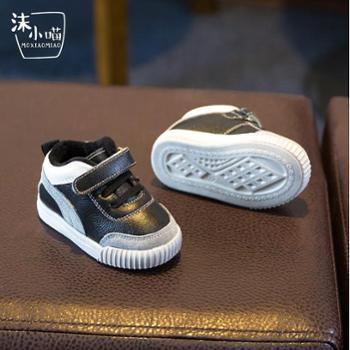 猫人 宝宝鞋子学步棉鞋婴儿冬季1-3岁儿童皮鞋机能男女小童软底防滑潮