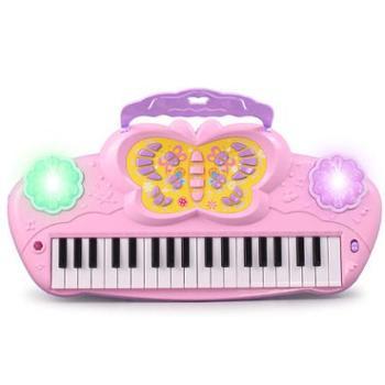 淘嘟嘟儿童电子琴带麦克风宝宝益智小孩多功能钢琴女孩音乐玩具礼物
