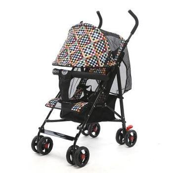 婴儿推车可坐可平躺折叠超轻便携式夏天四季通用宝宝手推车