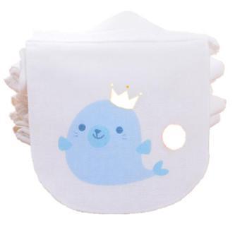 宝宝纯棉吸汗巾婴儿童隔汗巾垫背巾全棉幼儿园0-1-3-4-6岁加大码