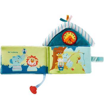 可优比宝宝布书0-1-3岁婴幼儿早教书撕不烂玩具书