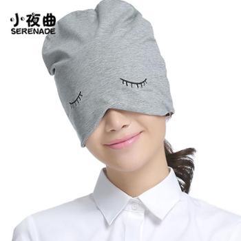 纯棉睡帽睡眠女全棉透气包头帽子睡觉男秋冬季加绒保暖产妇月子帽