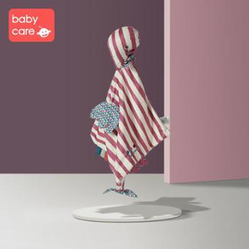 babycare婴儿安抚巾 可入口宝宝安抚玩偶 0-1岁睡眠手偶毛绒玩具