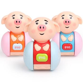 婴儿不倒翁3-6-9-12个月宝宝早教益智0-1岁大号点头娃娃音乐玩具