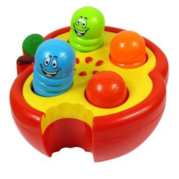 大号敲击果虫打地鼠6-12个月0-1-3岁婴幼儿童宝宝早教益智力玩具