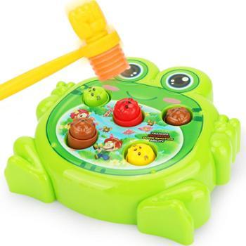 儿童打地鼠玩具婴幼儿1-2-3周岁益智宝宝电动敲打游戏机女孩男孩