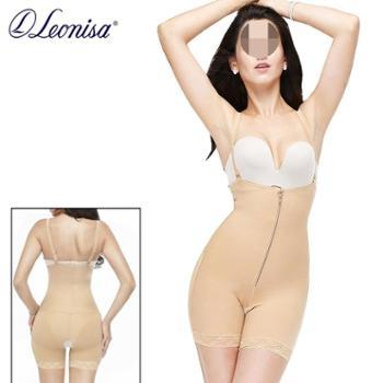 leonisa连体塑身衣女收腹束腰美体塑形收胃束腹孕产后提臀瘦身衣